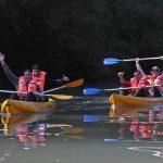 Kayak en el destino Moconá